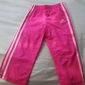 Adidas Pink Girl Track Pants
